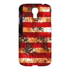 American Flag Usa Symbol National Samsung Galaxy S4 I9500/i9505 Hardshell Case by Celenk