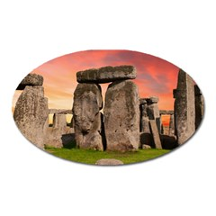 Stonehenge Ancient England Oval Magnet