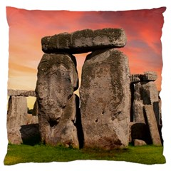 Stonehenge Ancient England Standard Flano Cushion Case (one Side) by Celenk