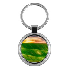Hills Countryside Sky Rural Key Chains (round)