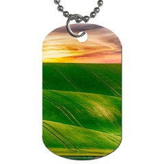 Hills Countryside Sky Rural Dog Tag (two Sides)