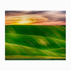 Hills Countryside Sky Rural Small Glasses Cloth