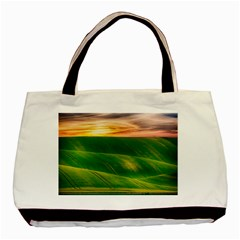 Hills Countryside Sky Rural Basic Tote Bag by Celenk