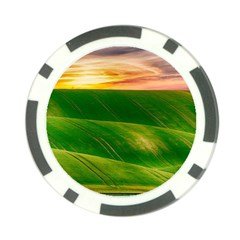Hills Countryside Sky Rural Poker Chip Card Guard