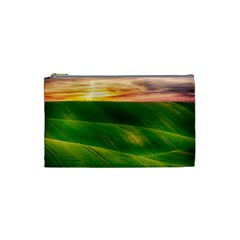 Hills Countryside Sky Rural Cosmetic Bag (small)