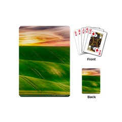 Hills Countryside Sky Rural Playing Cards (mini)