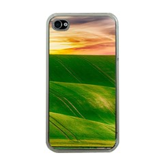 Hills Countryside Sky Rural Apple Iphone 4 Case (clear)