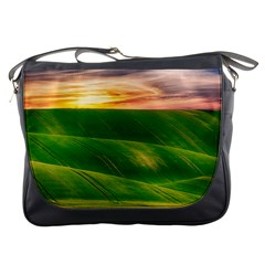 Hills Countryside Sky Rural Messenger Bags