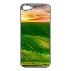 Hills Countryside Sky Rural Apple Iphone 5 Case (silver)