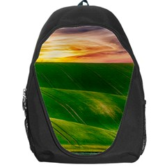 Hills Countryside Sky Rural Backpack Bag
