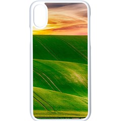 Hills Countryside Sky Rural Apple Iphone X Seamless Case (white)