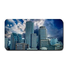 Tower Blocks Skyscraper City Modern Medium Bar Mats by Celenk