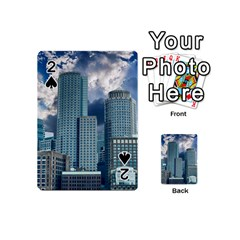 Tower Blocks Skyscraper City Modern Playing Cards 54 (mini)