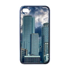 Tower Blocks Skyscraper City Modern Apple Iphone 4 Case (black)