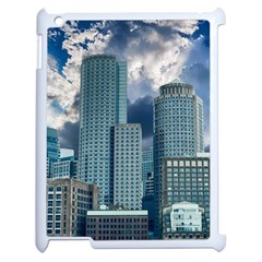 Tower Blocks Skyscraper City Modern Apple Ipad 2 Case (white) by Celenk