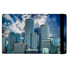 Tower Blocks Skyscraper City Modern Apple Ipad 2 Flip Case by Celenk