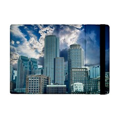 Tower Blocks Skyscraper City Modern Apple Ipad Mini Flip Case by Celenk