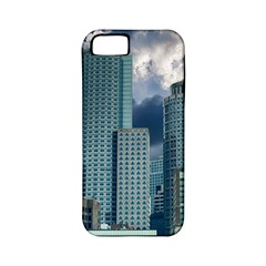 Tower Blocks Skyscraper City Modern Apple Iphone 5 Classic Hardshell Case (pc+silicone)