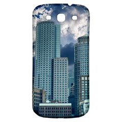 Tower Blocks Skyscraper City Modern Samsung Galaxy S3 S Iii Classic Hardshell Back Case