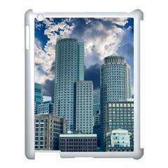 Tower Blocks Skyscraper City Modern Apple Ipad 3/4 Case (white) by Celenk