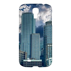 Tower Blocks Skyscraper City Modern Samsung Galaxy S4 I9500/i9505 Hardshell Case by Celenk