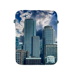 Tower Blocks Skyscraper City Modern Apple Ipad 2/3/4 Protective Soft Cases by Celenk