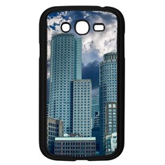 Tower Blocks Skyscraper City Modern Samsung Galaxy Grand Duos I9082 Case (black) by Celenk