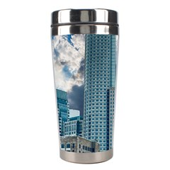 Tower Blocks Skyscraper City Modern Stainless Steel Travel Tumblers