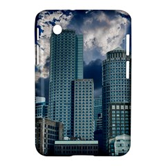 Tower Blocks Skyscraper City Modern Samsung Galaxy Tab 2 (7 ) P3100 Hardshell Case  by Celenk