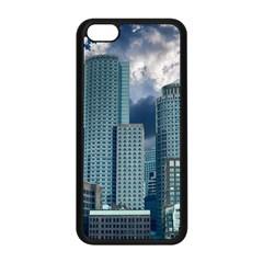 Tower Blocks Skyscraper City Modern Apple Iphone 5c Seamless Case (black)