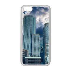 Tower Blocks Skyscraper City Modern Apple Iphone 5c Seamless Case (white)