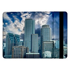 Tower Blocks Skyscraper City Modern Samsung Galaxy Tab Pro 12 2  Flip Case by Celenk
