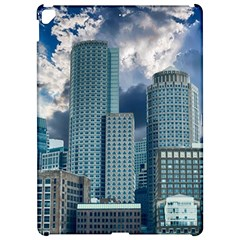 Tower Blocks Skyscraper City Modern Apple Ipad Pro 12 9   Hardshell Case by Celenk