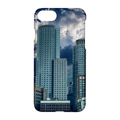 Tower Blocks Skyscraper City Modern Apple Iphone 7 Hardshell Case by Celenk