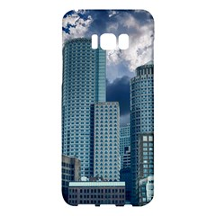 Tower Blocks Skyscraper City Modern Samsung Galaxy S8 Plus Hardshell Case  by Celenk