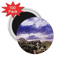 Mountain Snow Landscape Winter 2 25  Magnets (100 Pack)
