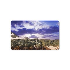 Mountain Snow Landscape Winter Magnet (name Card)