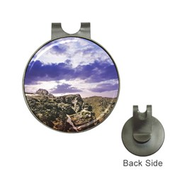 Mountain Snow Landscape Winter Hat Clips With Golf Markers