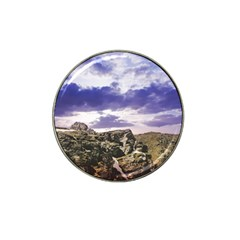 Mountain Snow Landscape Winter Hat Clip Ball Marker (4 Pack)
