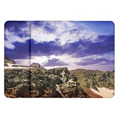 Mountain Snow Landscape Winter Samsung Galaxy Tab 8 9  P7300 Flip Case by Celenk