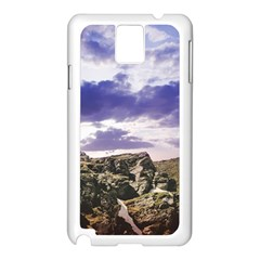 Mountain Snow Landscape Winter Samsung Galaxy Note 3 N9005 Case (white)