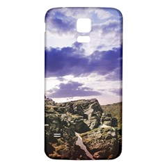 Mountain Snow Landscape Winter Samsung Galaxy S5 Back Case (white)