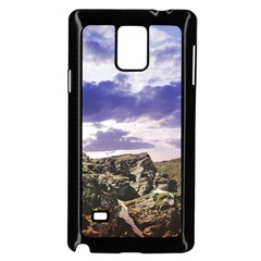 Mountain Snow Landscape Winter Samsung Galaxy Note 4 Case (black)