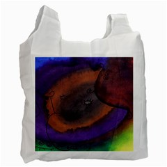 The Black Whole Egg Recycle Bag (one Side) by snowwhitegirl