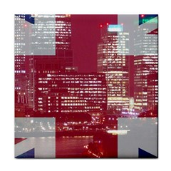 London England City Tile Coasters