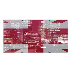 London England City Satin Shawl