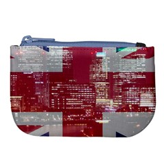 London England City Large Coin Purse