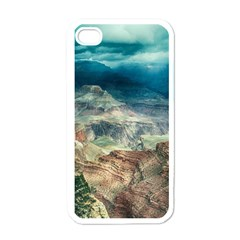 Canyon Mountain Landscape Nature Apple Iphone 4 Case (white)