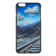 Nature Landscape Mountains Slope Apple Iphone 6 Plus/6s Plus Black Enamel Case by Celenk