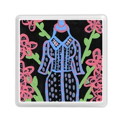Dress And Flowers Memory Card Reader (square)  by snowwhitegirl